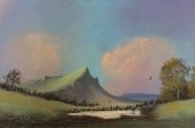 Mountain scape - Irene Cox