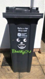Smiley bin