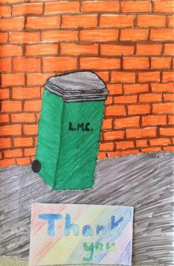 Thank you bin collectors